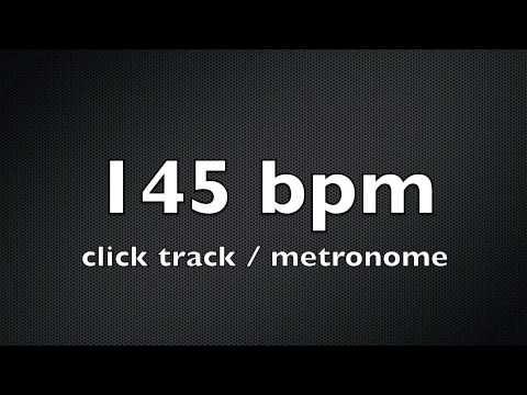 click track / metronome 145 bpm