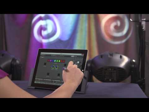 Creating a Jands Vista Lighting System with a Surface Pro 3 Tablet