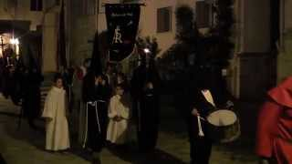 Vendredi Saint procession nocturne d