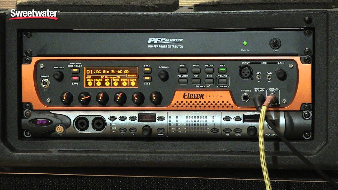 Avid Eleven Rack Sweeer Exclusive Amp Presets Sound You