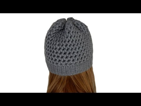 Fabulous Tricotin - Bonnet / Point 8 I Figure 8 - Loom Knitting - YouTube JF67