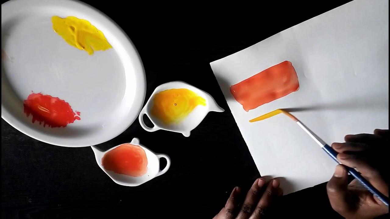 What Two Colors Mix Make Lemon Color What Colors Mix Make Orange