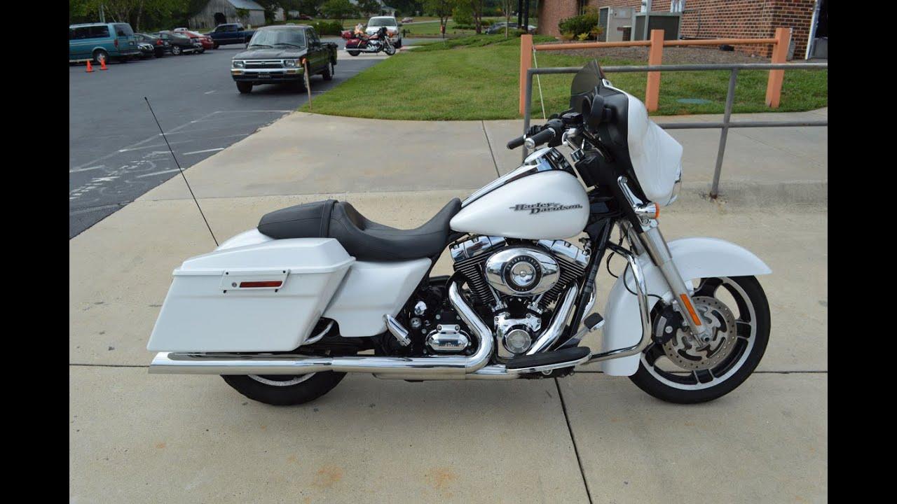 Sold! 2011 Harley-Davidson® FLHX - Street Glide® White Hot ...