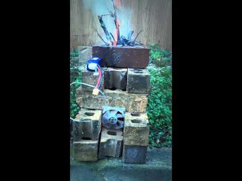 Diy wood burning forge