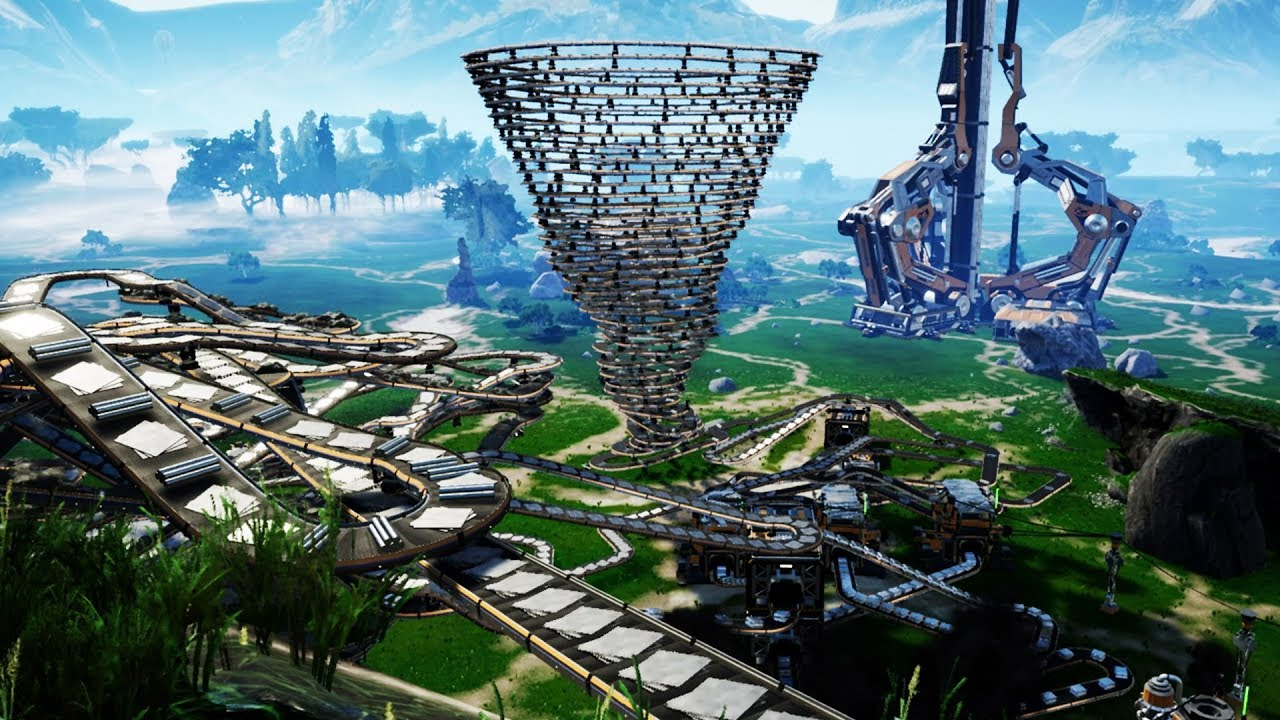I Crippled the Game by Building to the Heavens - Satisfactory gameplay -  Let's Game It Out