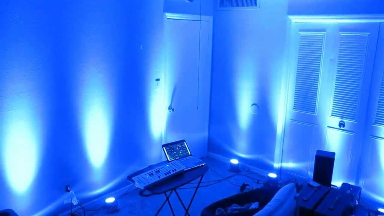 chauvet dmx 40 LED light controller in par 36