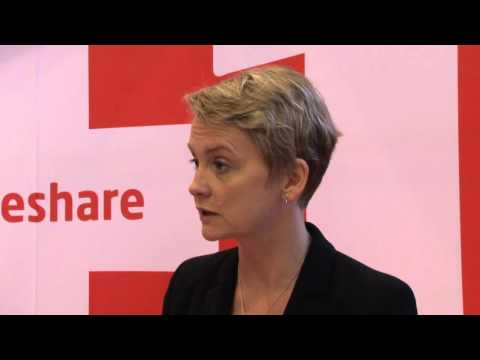 Q&A with Yvette Cooper, Shadow Home Secretary and Shadow Minister for Women & Equalities