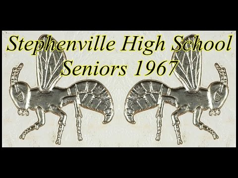 1967 Stephenville High School Senior class