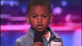 Howard Stern Makes 7 year old Rapper Cry on America