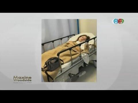 Karol Sevilla en el hospital a causa de un desmayo