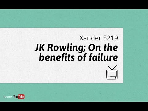J K  Rowling On The Benefits of Failure