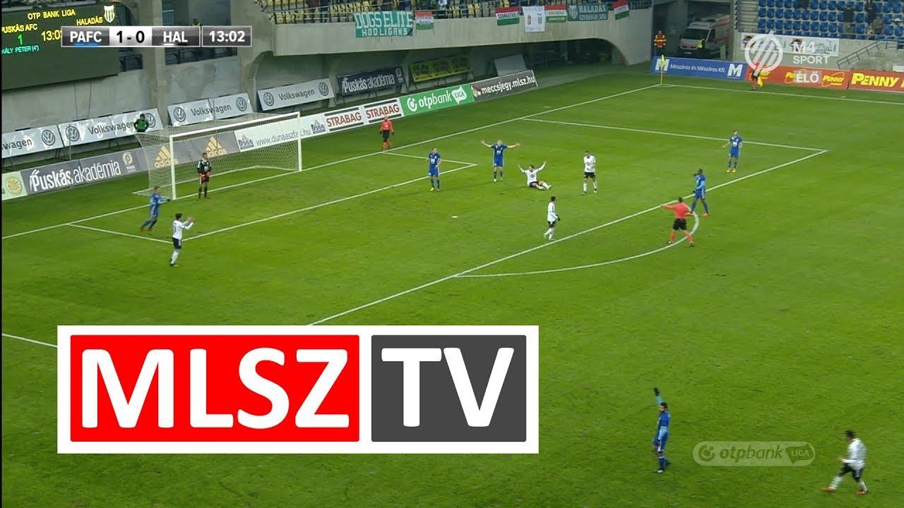 Puskás Akadémia FC - Swietelsky Haladás | 1-3 | OTP Bank Liga | 18. forduló | MLSZTV