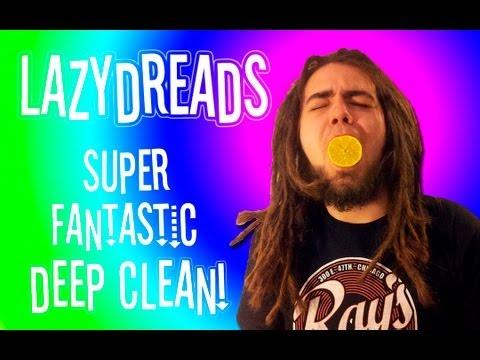 HOW TO DEEP CLEAN DREADLOCKS!