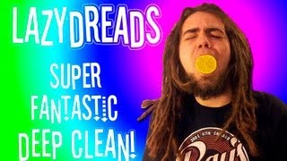 HOW TO DEEP CLEAN DREADLOCKS!