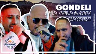 SSIO, Celo & Abdi Konzert in 3000m Höhe in den Schweizer Bergen | Red Bull Gondeli