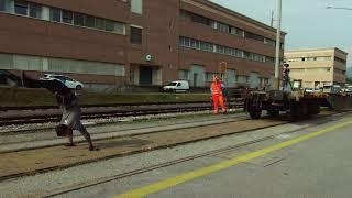 Drag a wagon in handstand / Traina un treno in handstand