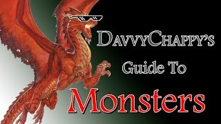 Davvy's Guide to Monsters
