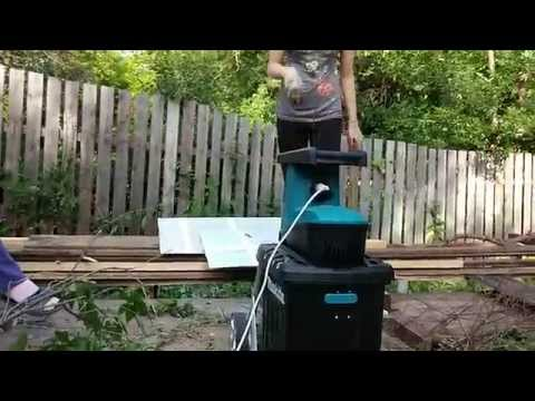 Видео обзор: Измельчитель MAKITA UD 2500