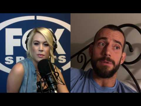 CM Punk's full interview with FOXSports.com's Carrlyn Bathe  (UNCENSORED)