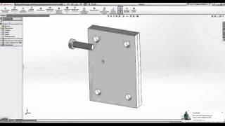 Работа в SolidWorks. Создание сборочных единиц (5 урок)