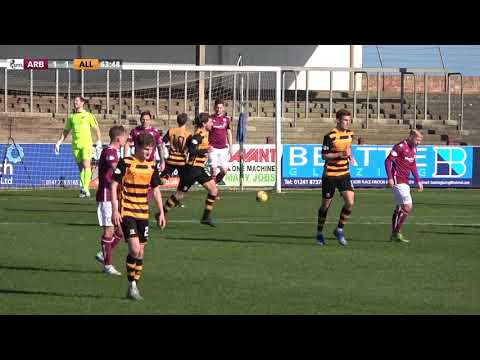 Arbroath Alloa Goals And Highlights