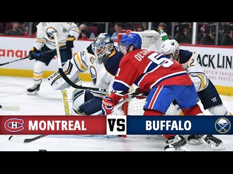 Montreal Canadiens vs Buffalo Sabres   Season Game 51   Highlights (31/1/17)