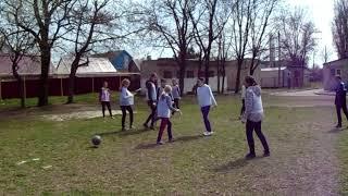 """Открытый урок в 7-А классе. Модуль """"Футбол"""" часть 2"""