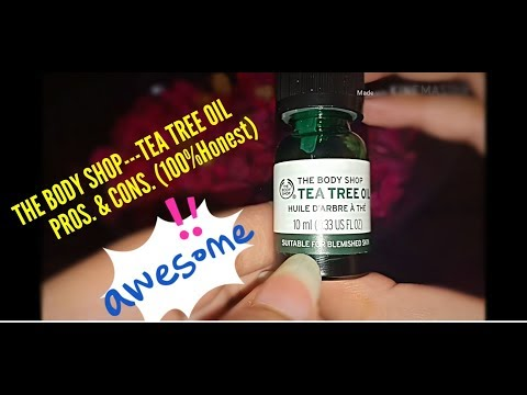 The body shop TEA TREE OIL miracle oil for acne review...LABZ REVIEWS