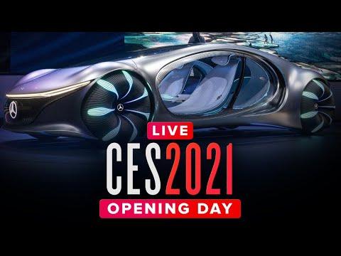 CES 2021: Tech press conferences ALL DAY – Livestream