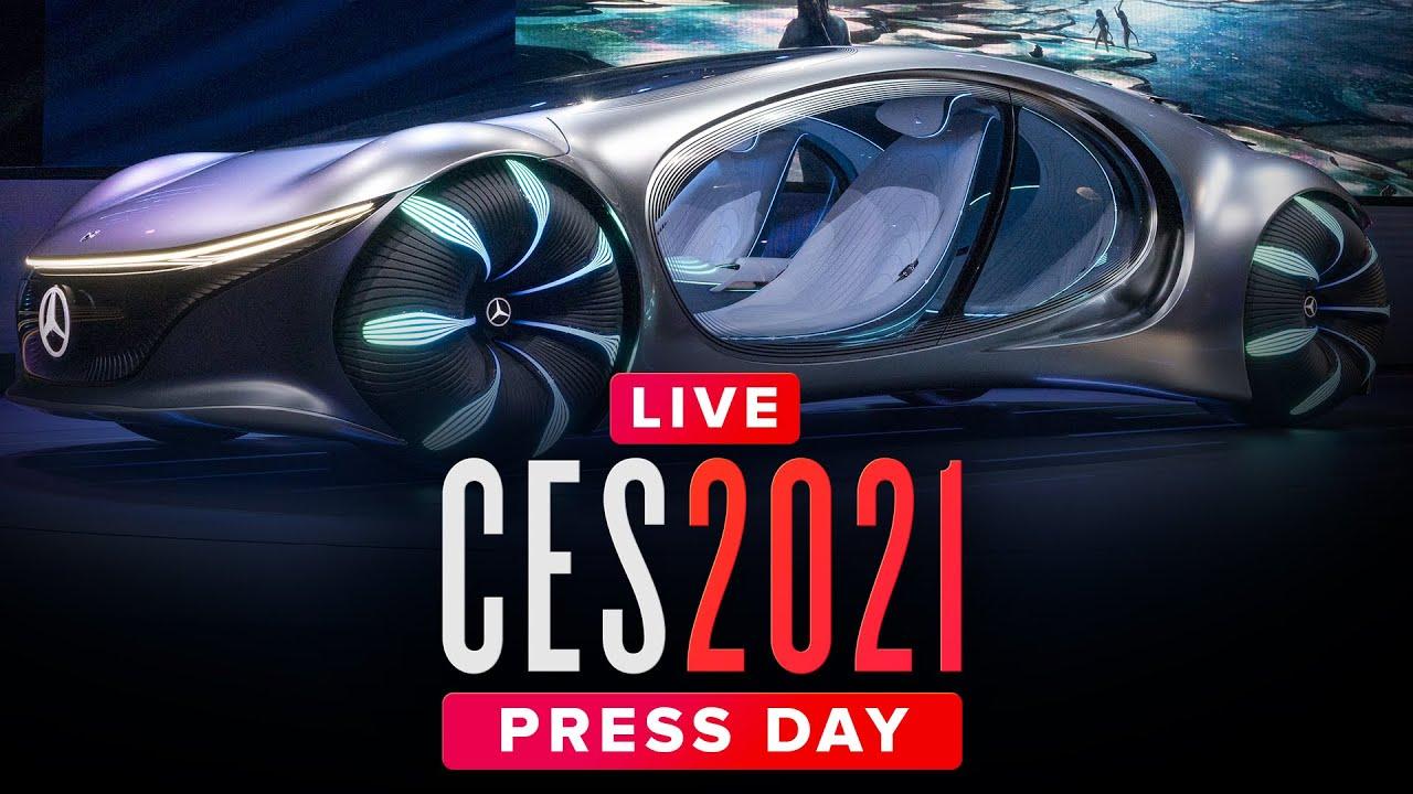 CES 2021: Tech press conferences ALL DAY - Livestream