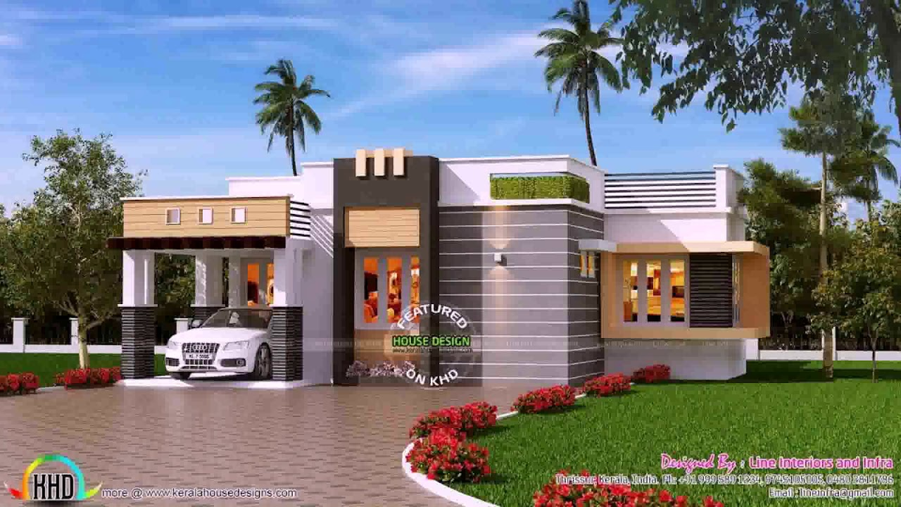 Indian Small Home Elevation Design Photo Gallery Youtube