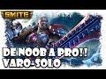 De Noob a Pro: Smite | Varolete SoloLane y David Arnaiz support | Gameplay Español