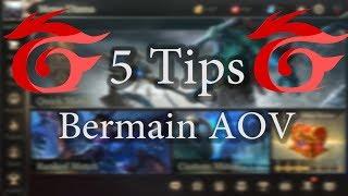 5 Tips Bermain Arena Of Valor / Mobile Arena Yang Belum Banyak Orang Ketahui ! Squad AOV Indonesia