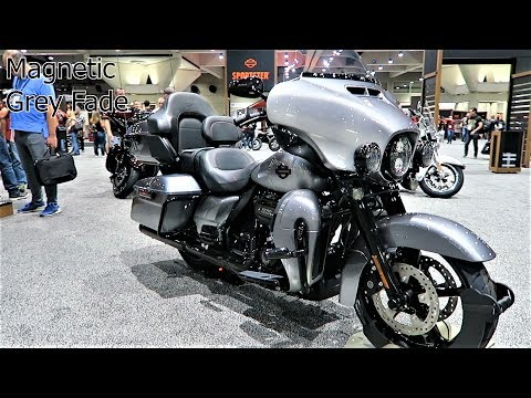 2019 CVO Limited Harley-Davidson All 3 Colors Options & What's New