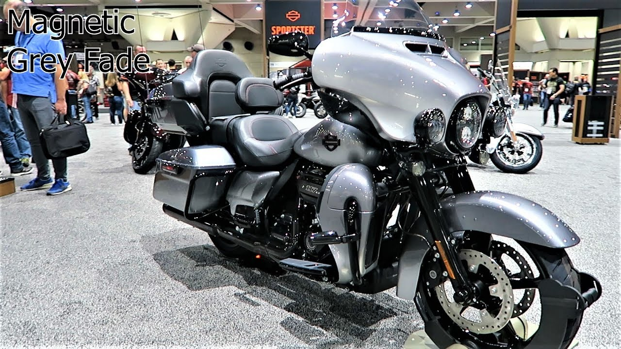 2019 CVO Limited Harley-Davidson All 3 Colors Options ...