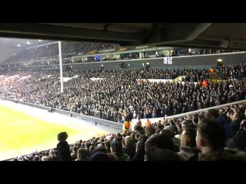 Tottenham Hotspur - Park Lane vs Shelf Side, Spurs v Fiorentina BEST VERSION