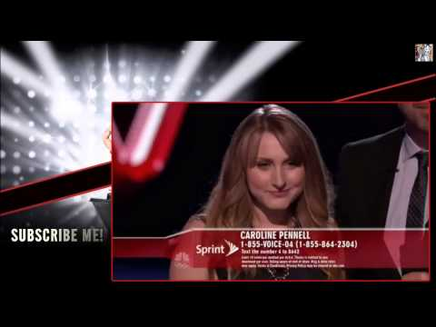 Caroline Pennell 'Leaving on a Jet Plane' - The Voice USA Season 5 Top 10 Compete