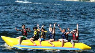 Epic Banana Boat Ride Fail in Penticton BC