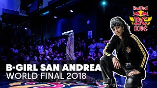 San Andrea Battle Compilation | Red Bull BC One World Final 2018