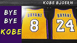 Kobe Bryants letzte Nacht in der NBA (Trikot Retirement) - Kobe Bjoern