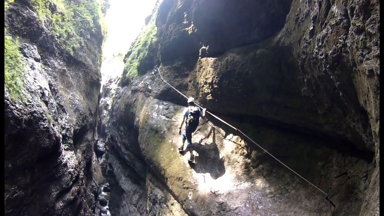 Klettersteig F : Klettersteige bergfuehrer kals