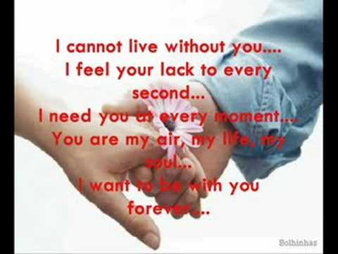 I want you our love g