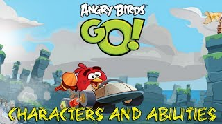 Angry Birds Go! - Review: All Characters and Abilities **NEW** Android/iOS