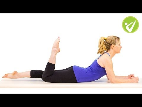 One Leg Kick Pilates Exercise Kristi Cooper
