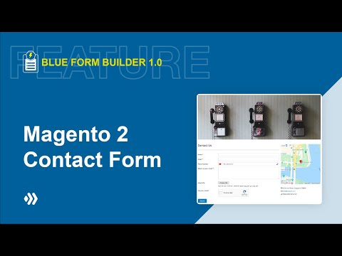 Easy To Use | Magento 2 Contact Form | Blue Form Builder