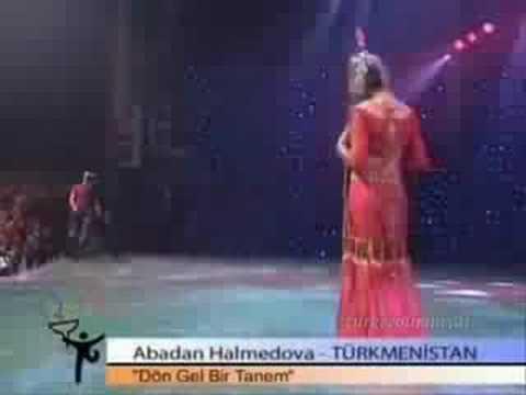 6. türkce olimpiyadi Abadan Halmedova