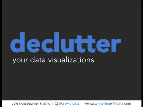 Declutter Your Data Visualizations