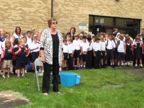 Mrs. Rasinski, Principal of St. Mary School in Riverside ...