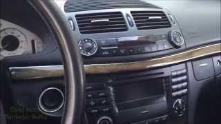 Як видалити Радіо командний блок | CD чейнджер | коробка перемикання передач | Мерседес E-клас W211