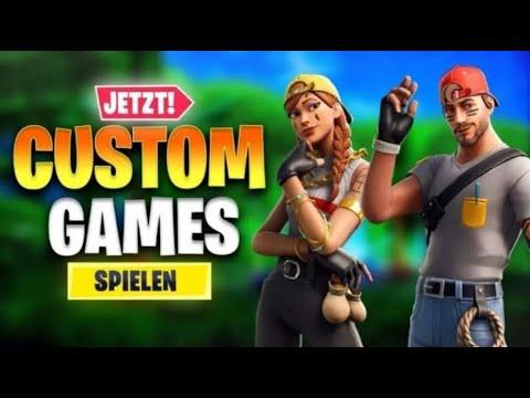 Download CUSTOM GAMES JETZT LIVE!#ABOZOCKEN!Fortnite Live Deutsch! #AssiArmy #CustomGames #Gamergirl KAPPA!